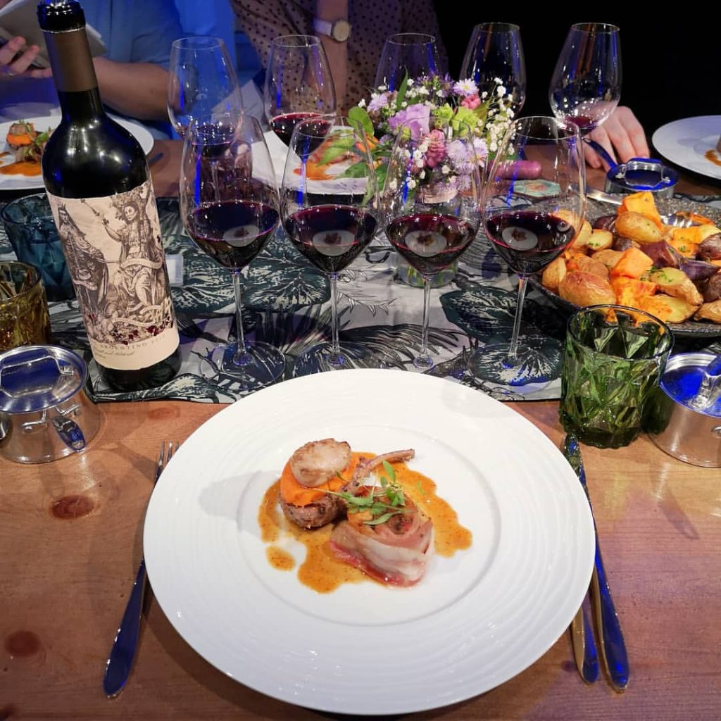 What no beef? Even the food was different at the Wines of Argentina Maverick dinner (Picture: Helena Nicklin)