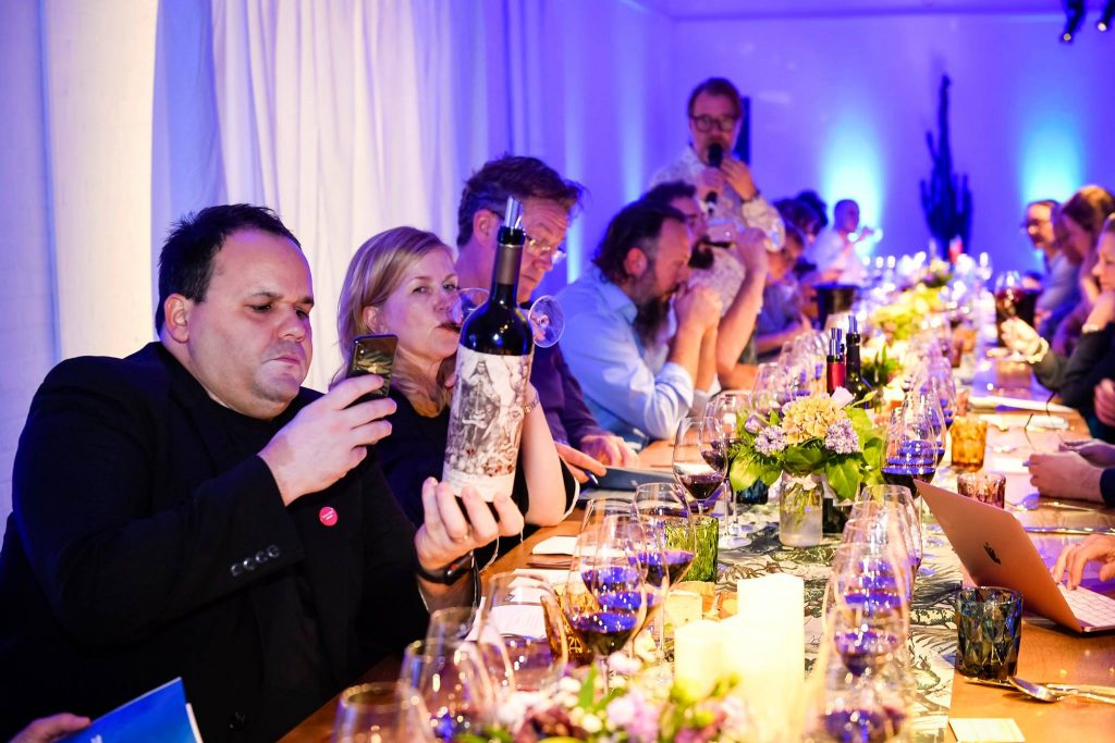 Insta-moment: Ready for action at the Wines of Argentina Mavericks' dinner