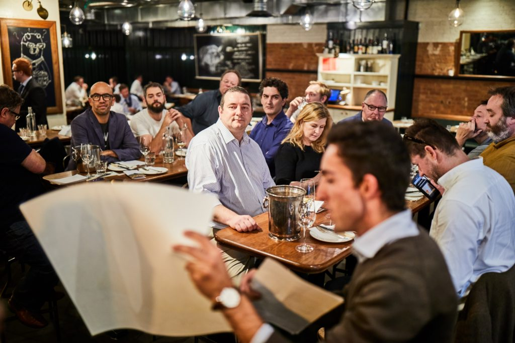 The restaurant tour also proved to be a good refresher course on Vouvray for the buyers (Tayo Lee Nelson Photography)