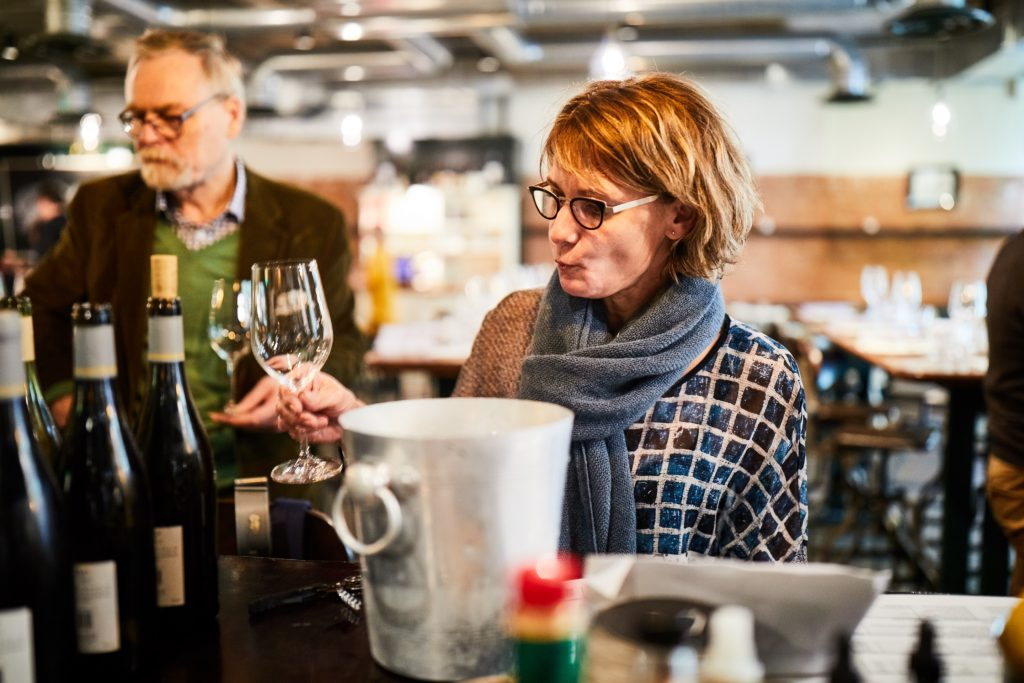 Vouvray producer woman