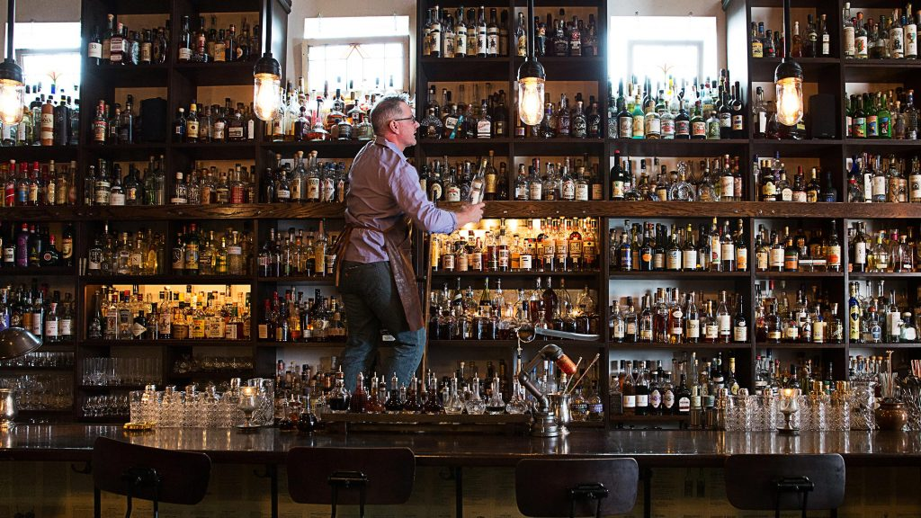 How do you organise the spirits on your back bar? Rather than sorting by style or category, Bibendum says there's an increasing move towards sorting spirits by country of origin