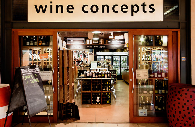 Influential stores like Wine Concepts in Cape Town are listing Rascallion Wines