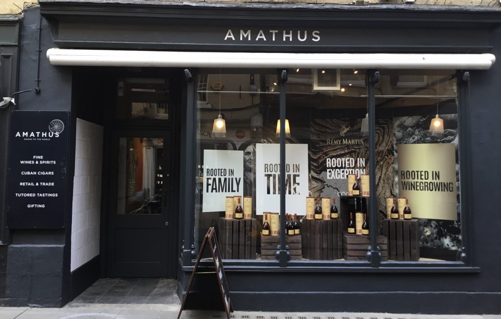 One of two Amathus stores to now sit outside London. Here In Bath with the other new store in Brighton
