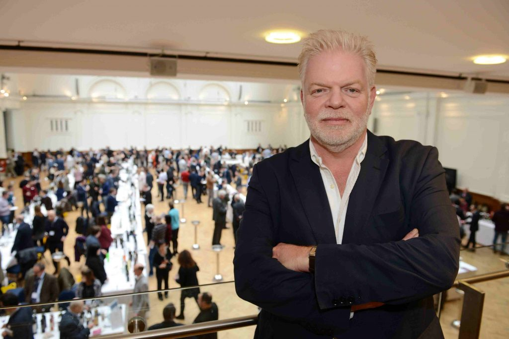 Andrew Bewes says Hallgarten & Novum Wines is going to have £1m of additional stock in the UK