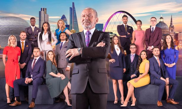 The contestants on the 2018 series of The Apprentice
