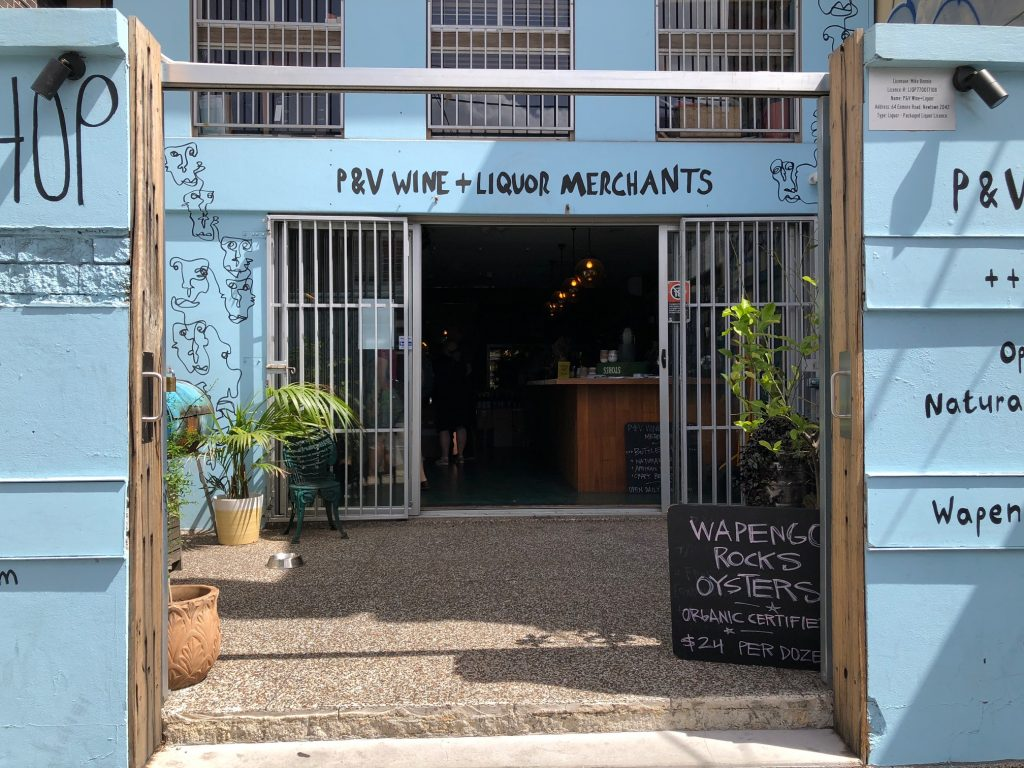 Mike Bennie's wine store in Newtown in Sydney that specialises in pet nat wines