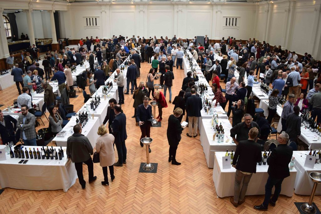 Many of the commercial and house wines at a Hallgarten Novum tasting will have been bottled at its parent company's facilities in Germany