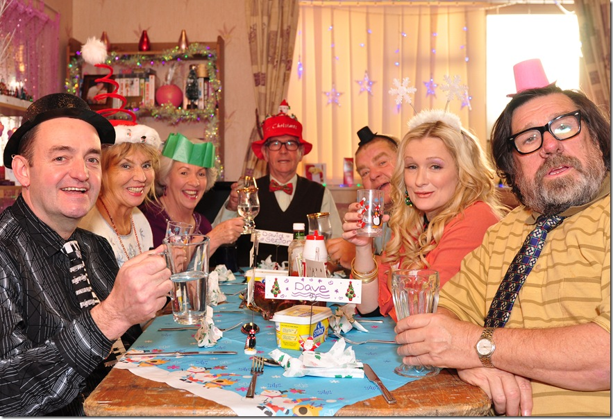 Now what a Christmas dinner that would be...BBC's Royle family