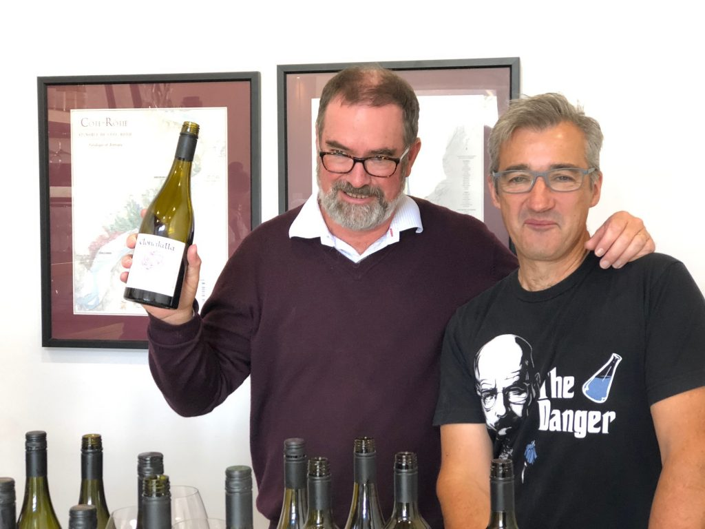 Clonakilla's Tim Kirk and winemaker