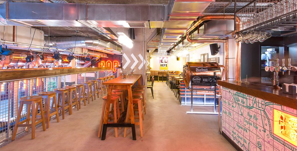 Draft House in Old Street in London has been fitted with the new Duvel draught system