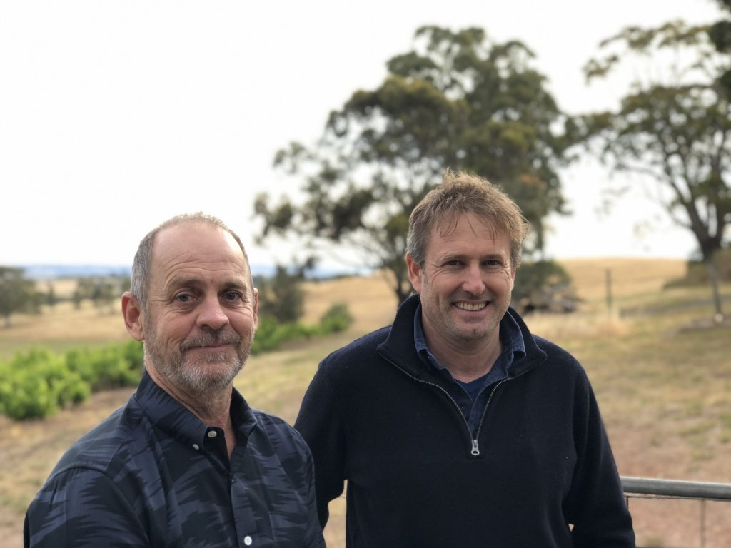 Two of McLaren Vale s most respected and award winning winemakers, Steve Pannell and