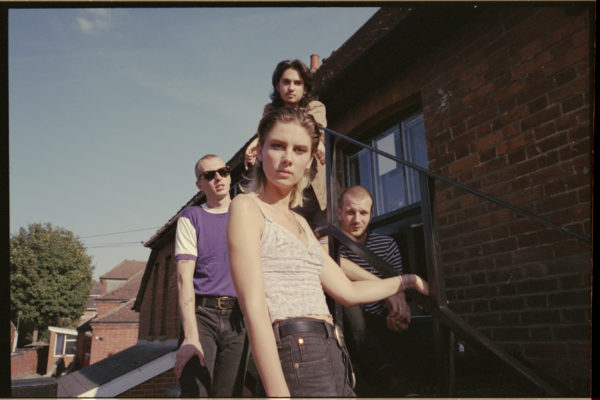 The band: Wolf Alice. Picture by Jono White