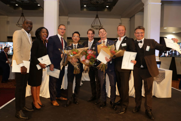 The finalists at the last Sommelier Cup competition in South Africa in