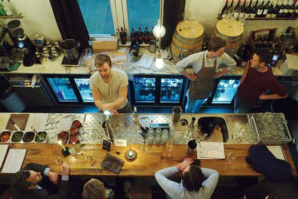 """Natural wine bars have """"exploded"""" in Amsterdam says Woolf"""