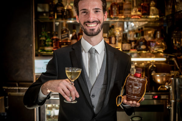 Andrea Dionori of Crazy Bear - Winner of the Fenjiu Cocktail Competition 2019