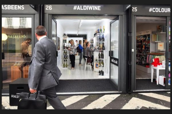 It's harder for Aldi to differentiate its wine offer or even copy the brands as there are so few real household wine brands