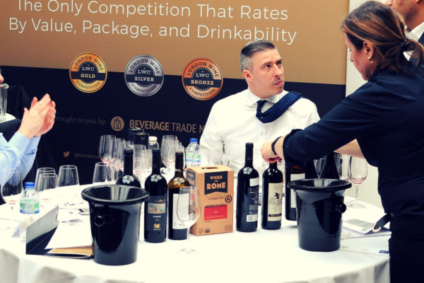 london wine competition tasting