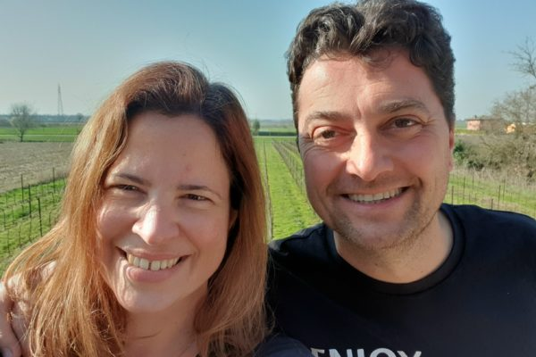 Reka and Pier Haros have been putting a brave face on their situation and informing as well as entertaining the wine industry with their daily social media posts
