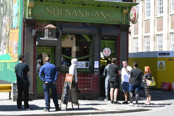Queuing for a pint served out a window could be the future for many this summer