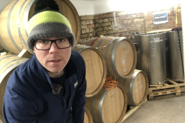 Chilly in the winery