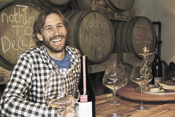 Pieter Walser from BlankBottle will be bringing his almost cult-like wines to the tasting