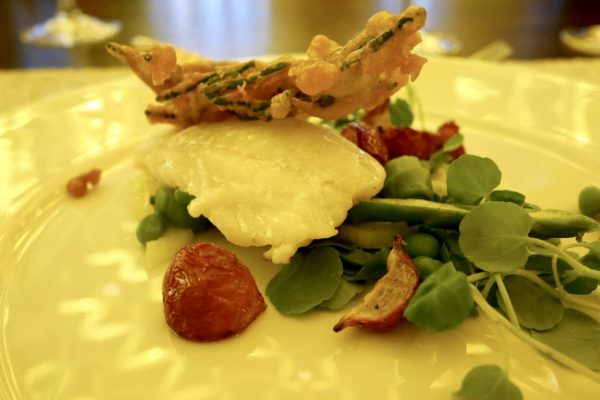 Simple but stunning starter: Picture by  dancing-in-high-heels.blogspot.co.uk