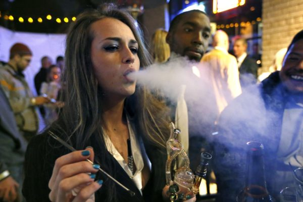 More US states are legalising the sale of cannabis and threatening sales of alcohol at the same time