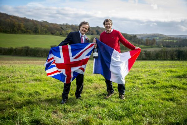 To help make the PR story a success the trick was to keep the secret of this Anglo/French partnership a secret for as long as possible