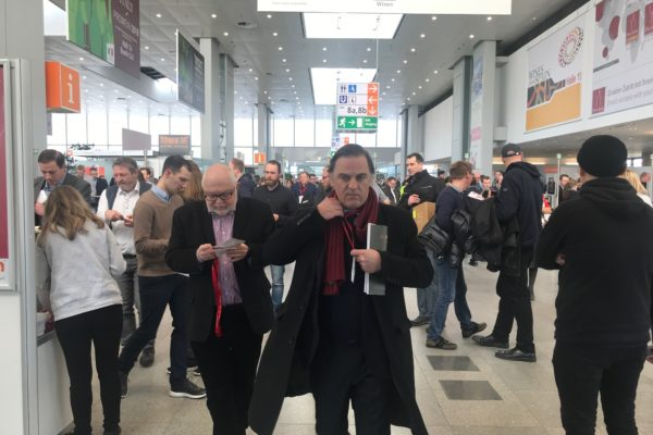 Prowein 2018: No time to hang up your coat...