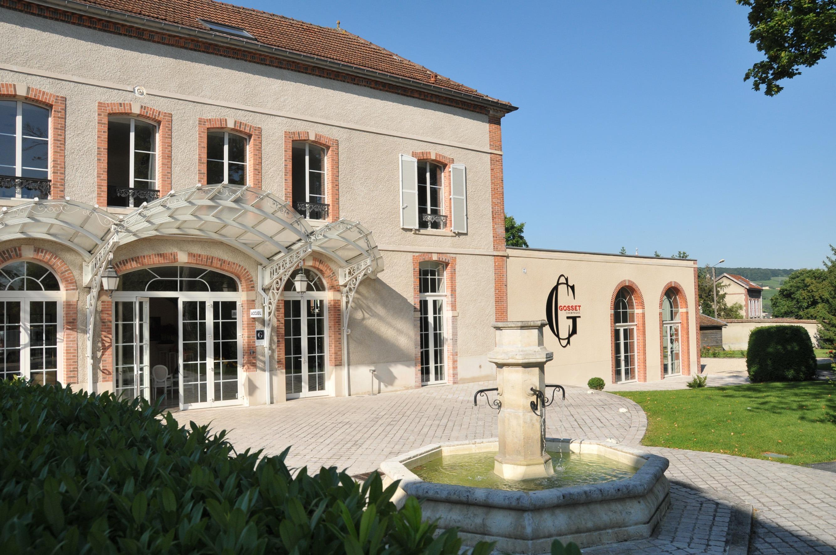Kết quả hình ảnh cho the gosset champagne house