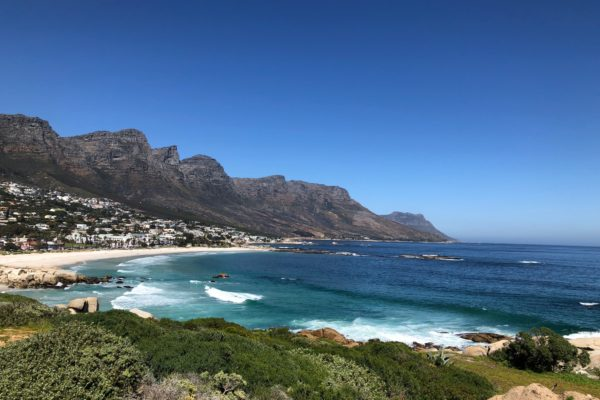 With scenery like this it's not surprising the world's wine buyers want to visit South Africa