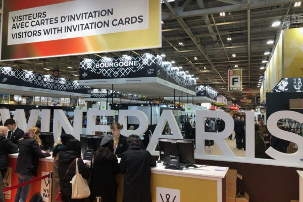 Wine Paris attracted buyers from all over the world with 30% coming from outside France