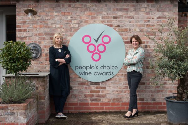 Janet Harrison founder of the People's Choice Wine Awards with her new partner for the business Judy Kendrick