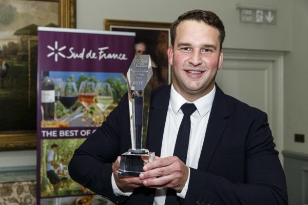 Andres Rangal From Gymkhana wins Sud de France sommelier of the year