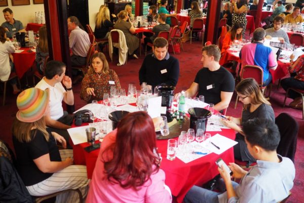 people choice wine judging round 1