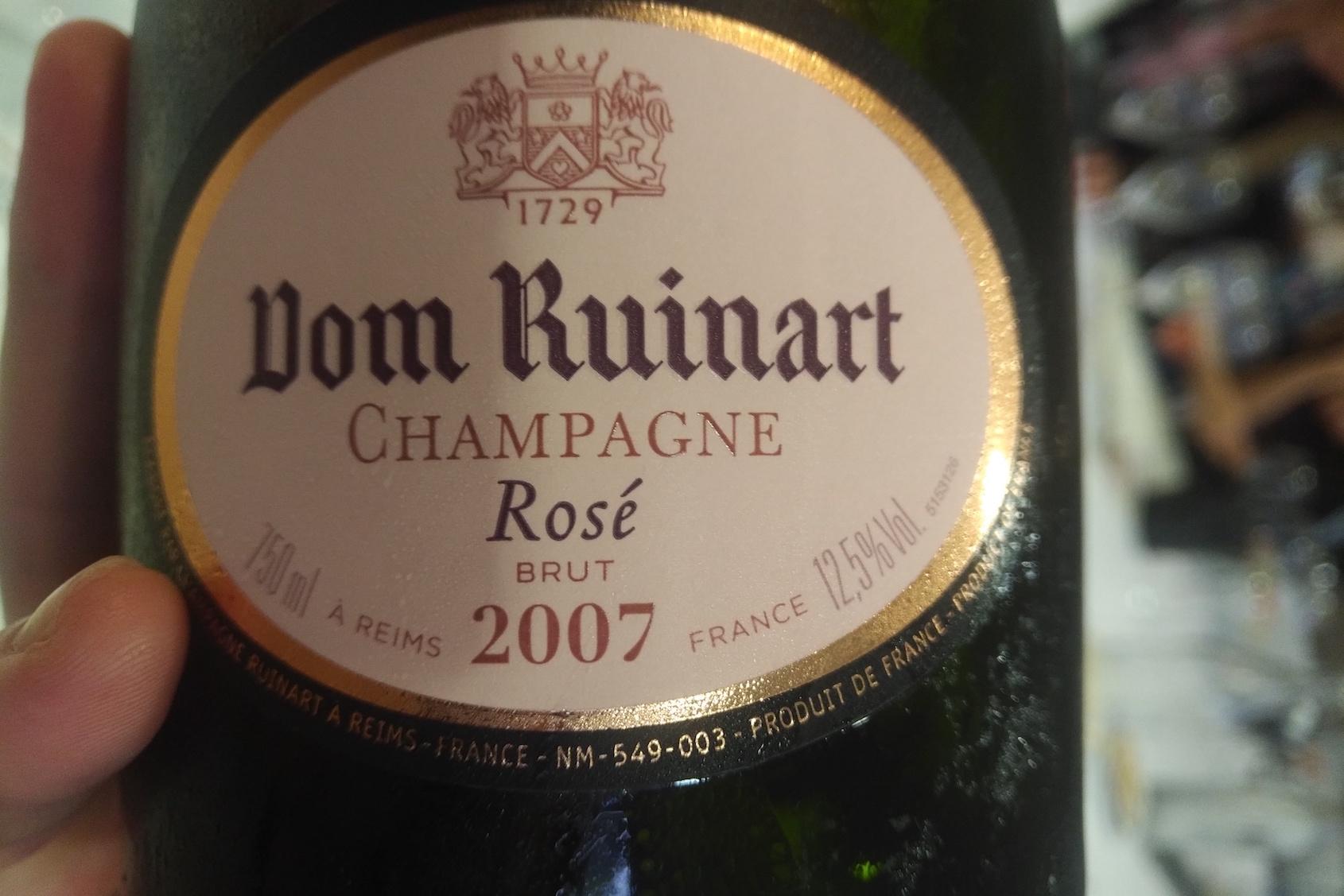 Dom Ruinart Rosé 2007