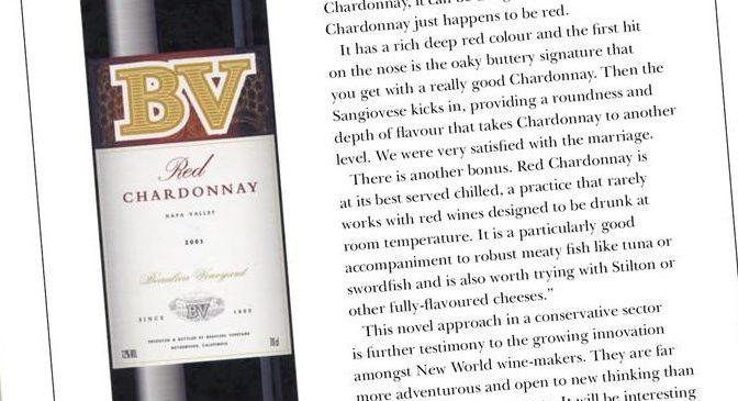 Red Chardonnay