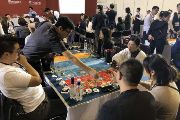 vinexpo shanghai wine game