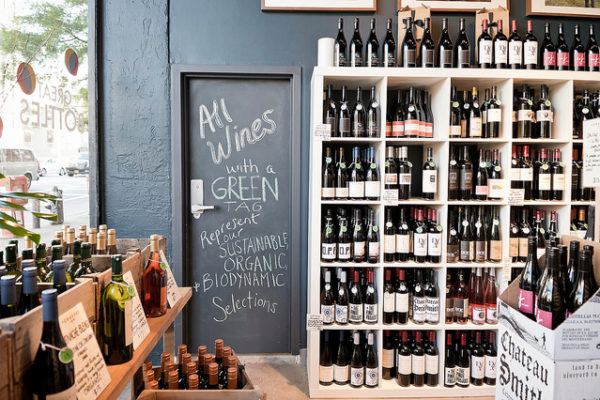 Organic wines have become a key attraction for wine merchants and restaurants