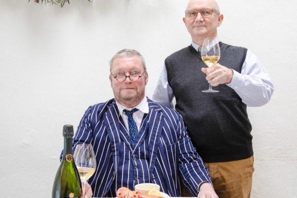 Bollinger LGA 2012 Launch - Fergus Henderson and Trevor Gulliver