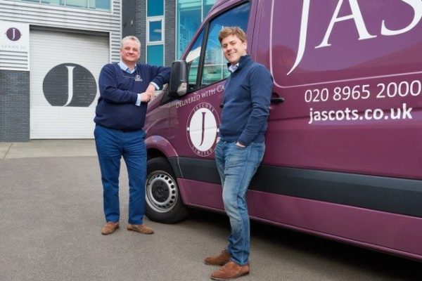 Miles MacInnes, right, and John Charnock says Jascots remains determined to keep on all its staff through the crisis