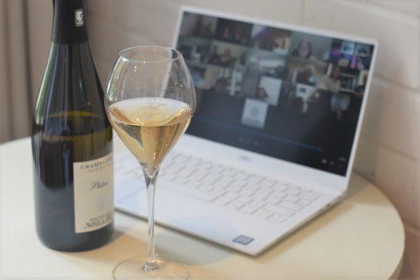 virtual champagne