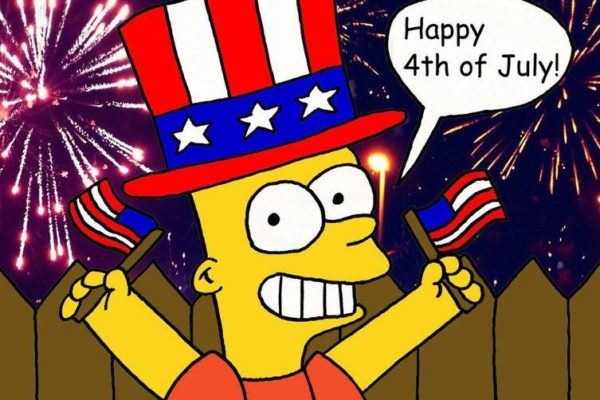 july 4 simpsons