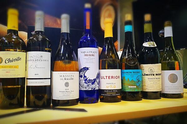 Spanish white wines