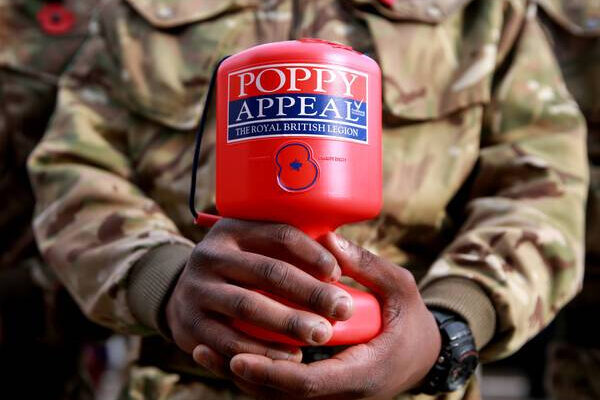 The poppy appeal will be even more significant this year as it celebrates 100 years of the Royal British Legion
